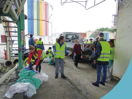 Le World Clean Up Day dans les rues de La Souterraine